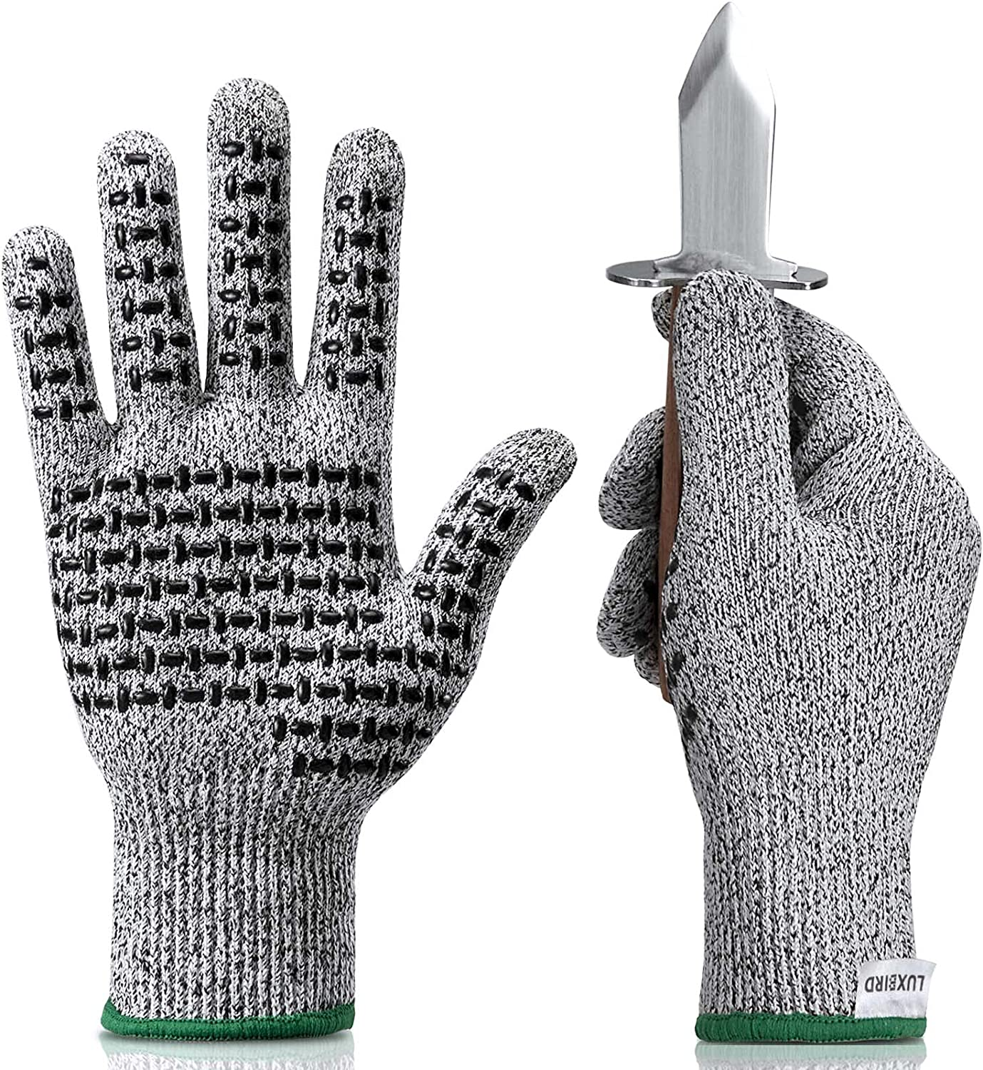 Luxbird Same day shipping Cut Resistant Gloves Food Great interest 5 with Level Grade Protection