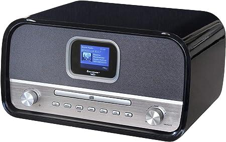 Soundmaster Dab970sw Stereo Musikcenter Mit Dab Elektronik