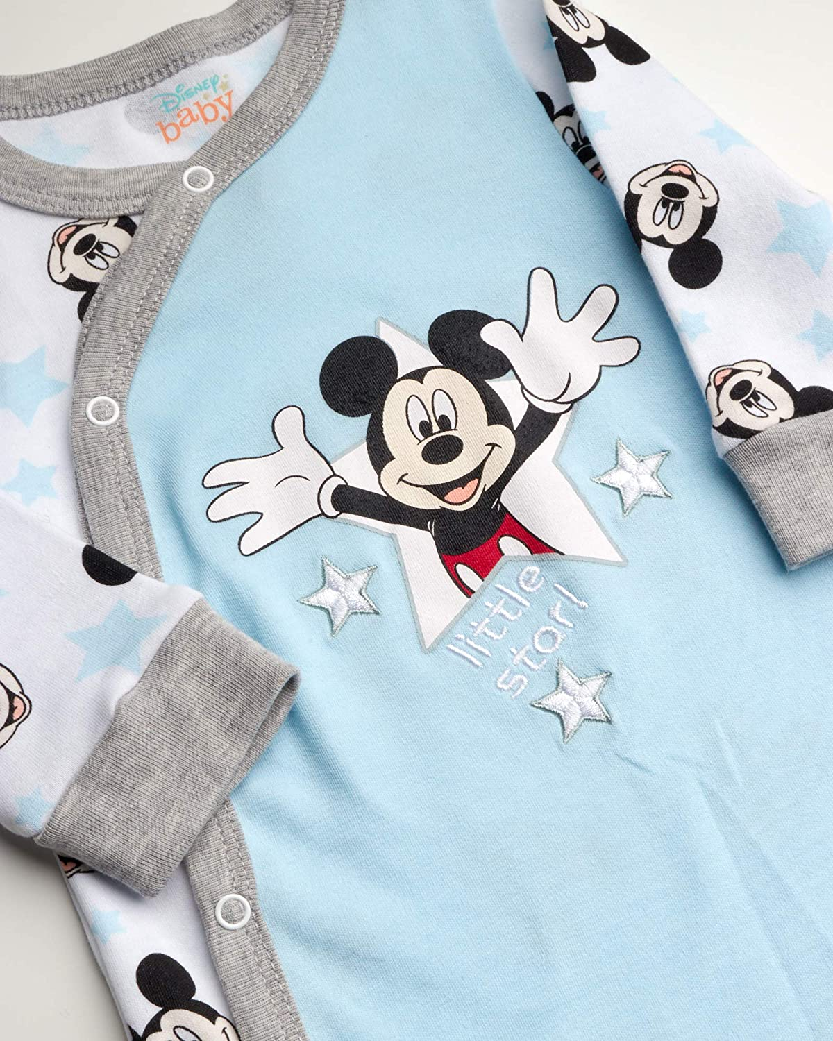 and Dumbo Disney Baby Boys and Girls Newborn 2-Piece Footed Sleep and Play Set Minnie Mouse Mickey Mouse