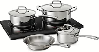 Tramontina 80101/506DS Induction Cooking System, 8-Piece