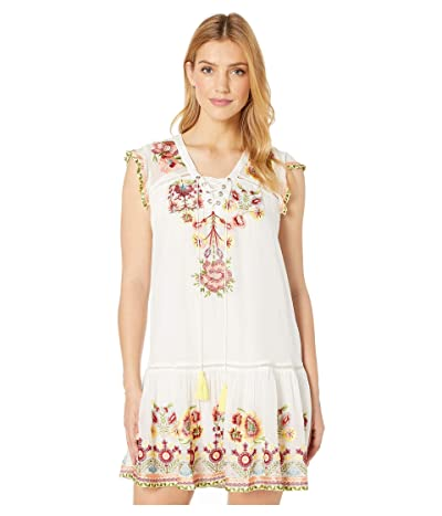 Tolani Daya Tunic Dress (Creme) Women