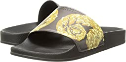 Versace Collection Slipper Rubber Sole H.05 PVC St.Frieze