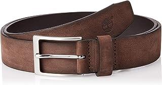حزام TIMBERLAND من الجلد المغسول للرجال، متوسط