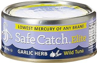 SAFE CATCH Elite Wild Tuna, Garlic & Herb, 142 gm