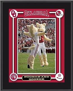Oklahoma Sooners Boomer & Sooner Mascot Sublimated 10.5