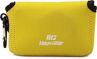 MegaGear MG1834 ultralätt neoprenkamerafodral kompatibelt med Canon PowerShot G9 X Mark II, G9 X – gul