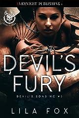 Devil's Fury (Devil's Sons MC Book 1) Kindle Edition