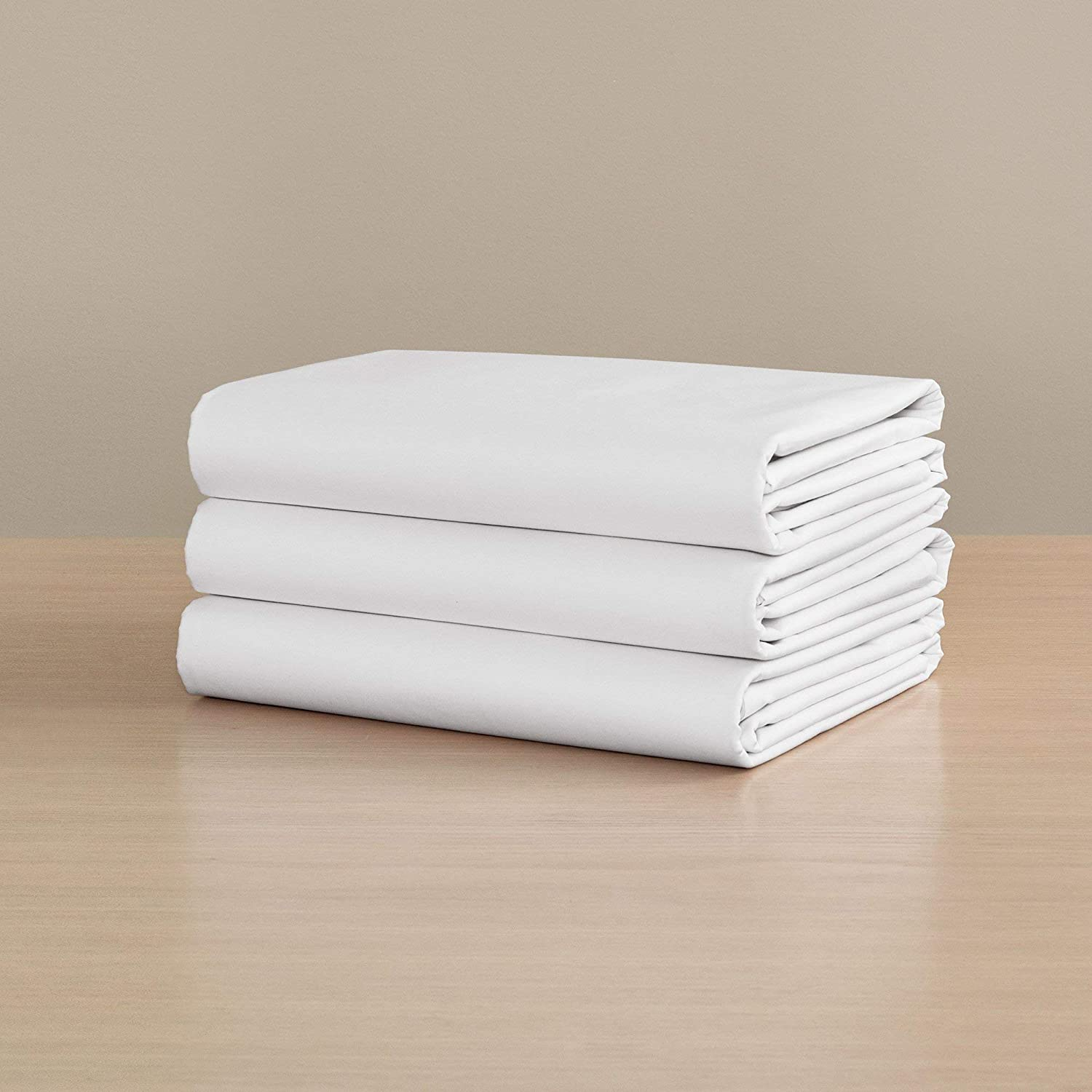 H by Frette Percale Fitted Sheet Fitte Twin - All-White Luxury 評価 超目玉