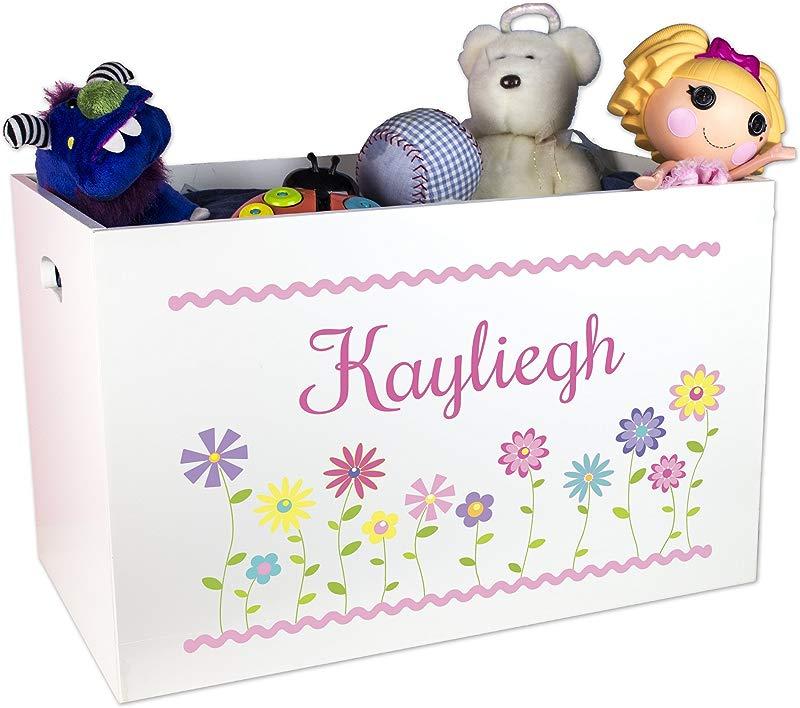 MyBambino Girl S Personalized Toy Box