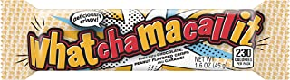WHATCHAMACALLIT Chocolate Caramel Peanut Candy Bar, 1.6 Ounce (Pack of 36)
