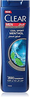 Clear Men's Anti-Dandruff Shampoo Cool Sport Menthol, 400ml