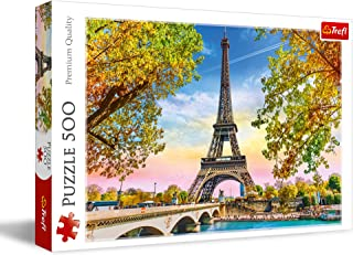 trefl Puzzle modèle Paris 500 pièces, 37330, Multicolore