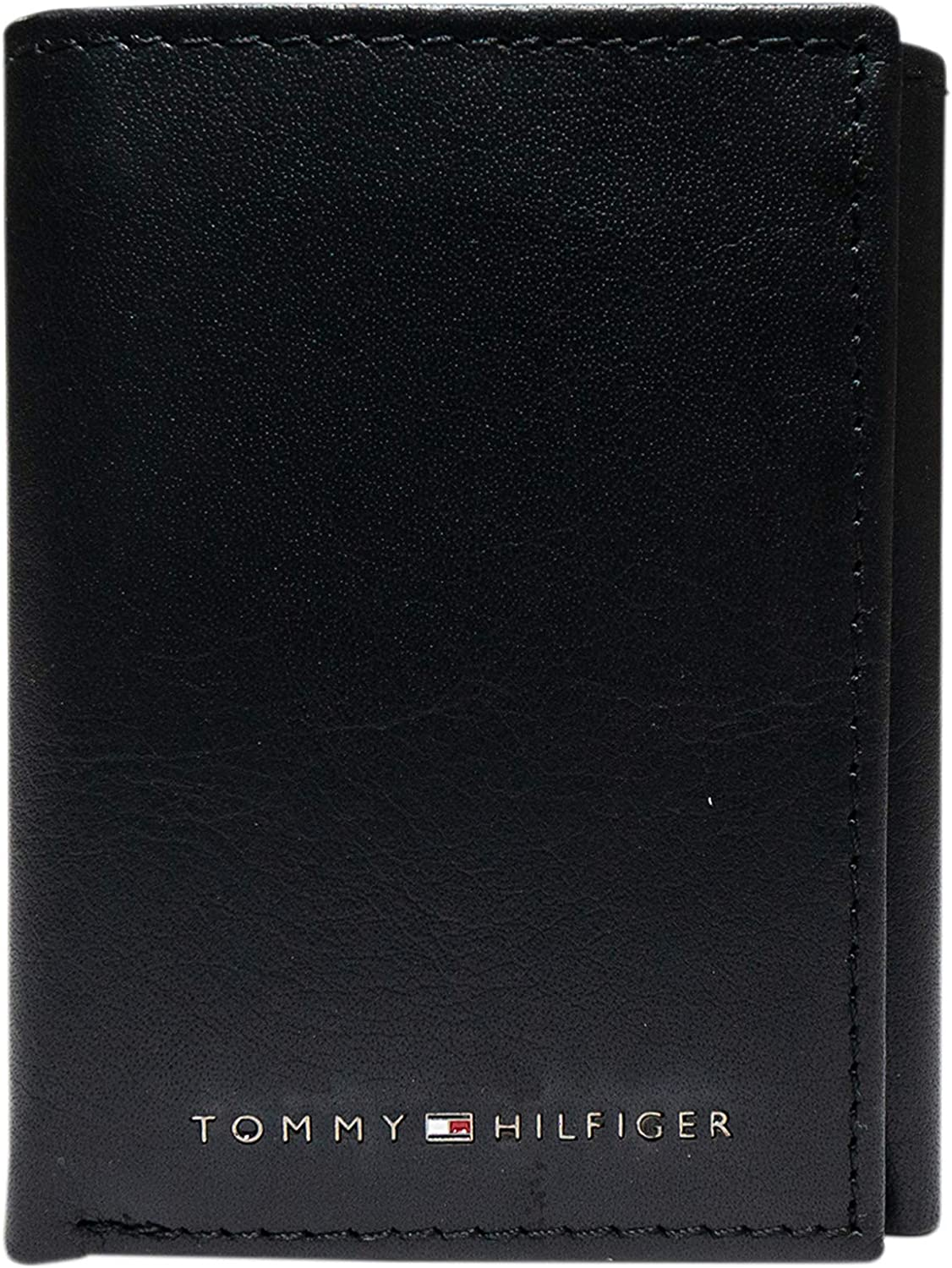 Tommy Hilfiger Men's Genuine Columbus Mall Leather Wind Max 85% OFF ID With Wallet Trifold