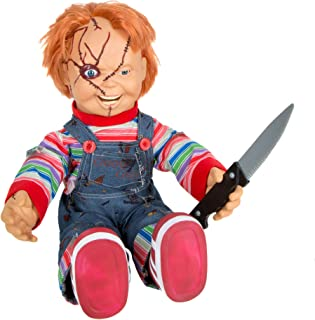 Spirit Halloween 2 Ft Talking Chucky Doll Decoration | Officially Licensed
