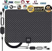 [Latest 2020] HDTV Digital Antenna 4K 1080p - 120 Mile...