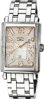 Woman's 'Ave Of Americas Mezzo' Quartz and Stainless Steel Diamond Watch
