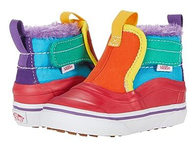 Vans Kids Slip-On Hi Terrain V MTE (Infant/Toddler) ((MTE) Color-Block/Rainbow) Girl