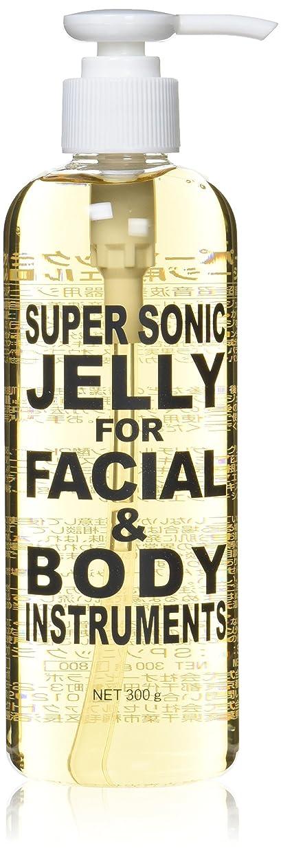 品試験レスリング超音波美顔器専用ジェル スーパーソニックジェリー
