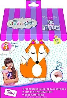 My Studio Girl Make-Your-Own Mini Pillow - Fox