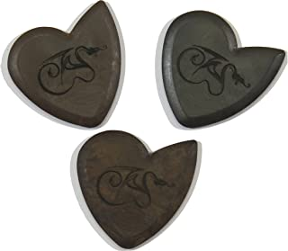 Dragon's Heart Guitar Picks Variety Pack (3) - Pure, Hardened, and Original | 2.5 mm Thick