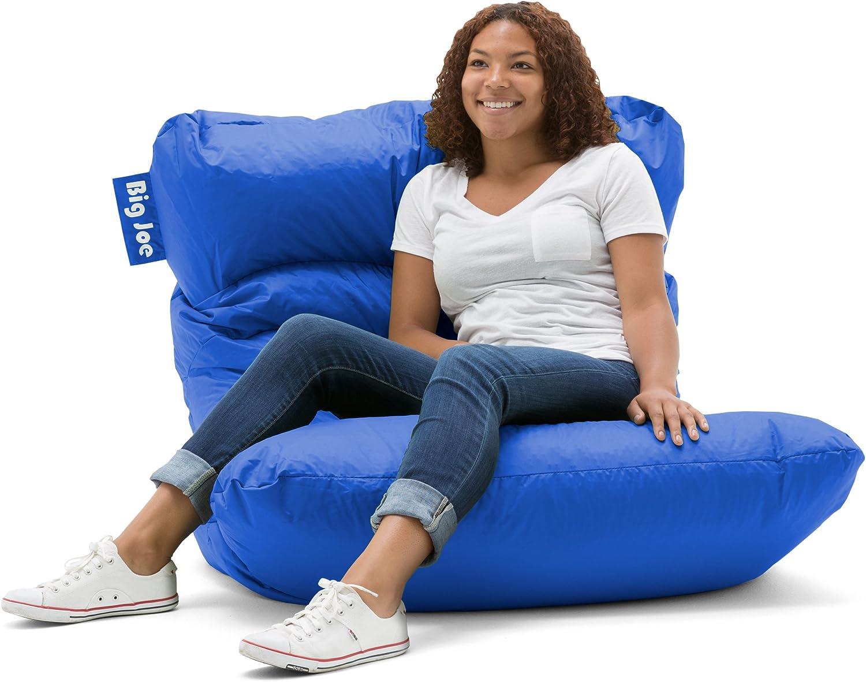 Big Joe Roma Bean Bag Chair, Sapphire