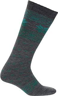 Tubos modelados del esquí - 2 Paquetes, Calcetines Ligeros, Invierno, Cuidado fácil, Costuras Finas del Dedo del pie, Calcetines de un tamaño