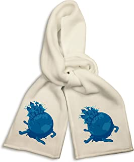 White Winter Scarf -
