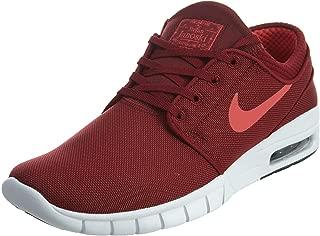 Nike Men's Stefan Janoski Max Team Red/Ember Glow Black White Sneakers - 10 D(M) US