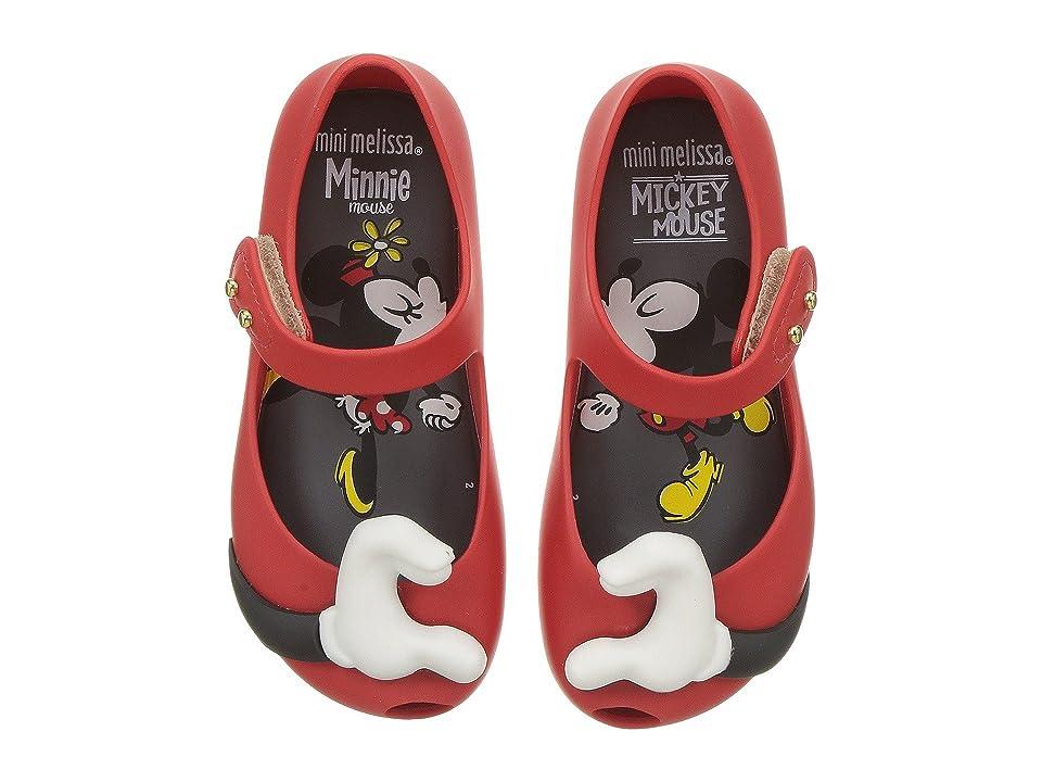 Mini Melissa Mini Ultragirl + Disney (Toddler/Little Kid) (Red) Girl