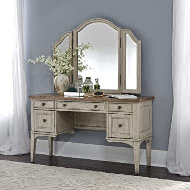 Liberty Furniture Industries Farmhouse Reimagined Vanity, Antique White