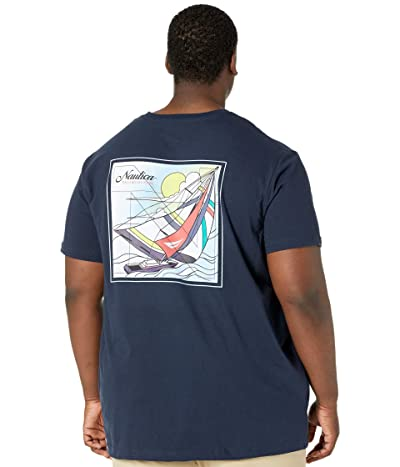 Nautica Big & Tall Big Tall Sustainably Crafted Sailing Division T-Shirt