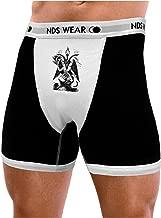 NDS Wear TooLoud Baphomet Illustration Mens Boxer Brief Underwear