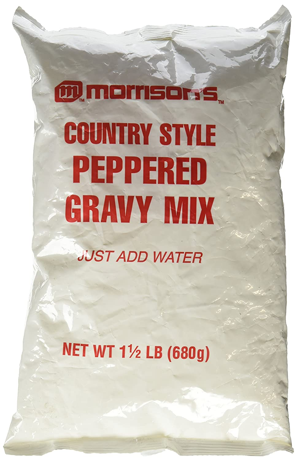 Morrison's Country Style Peppered Popular shop is the lowest price challenge Gravy Mix Just Max 62% OFF Add W Lb. 1 2