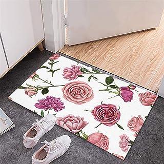BISXOTY Mother's Day Mat,Easter Day Decoration Doormat,Anti-Skid Bottom Floor Mats,Indoor Outdoor Carpet,Entrance Mats,No...