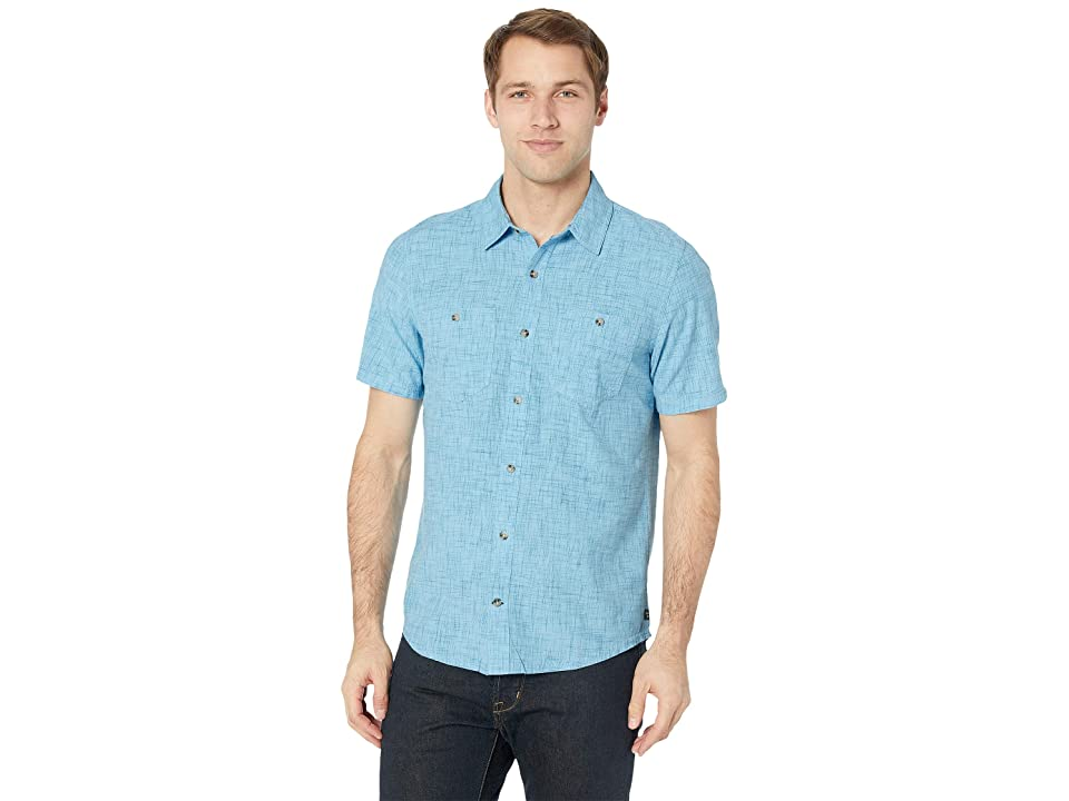 Toad&Co Smythy S/S Shirt (Clear Blue) Men