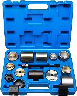 zunbo 4 Pcs Roulette Pivotante Robuste en Caoutchouc /à Tige Filet/ée 1.5 Inch 2 Frein/ées+2 Roulettes Universelles pour Chariot /à Main avec Frein Roues Meuble Pas de Bruit