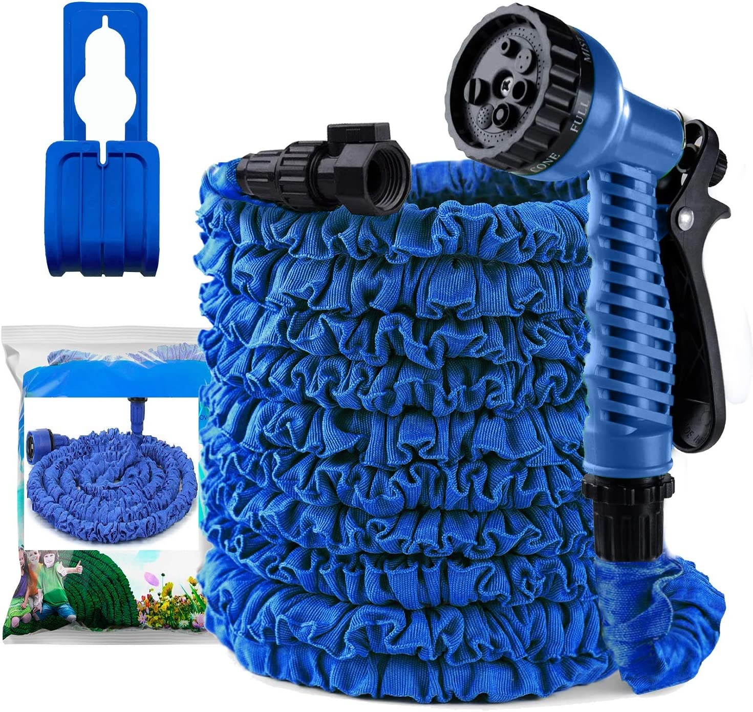 Gardening Hose Pipe Expandable Water Hose Garden Hose Double Flexible Layer Latex Core