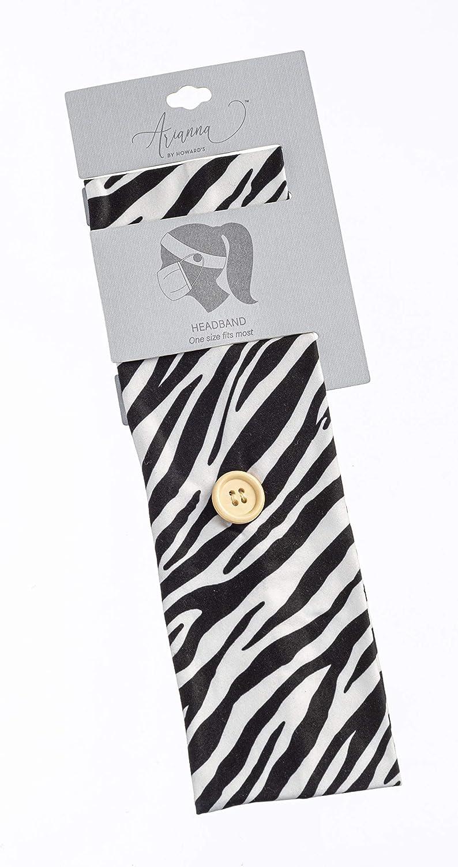 Headbands with Buttons (Zebra)