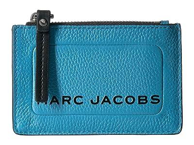 Marc Jacobs Top Zip Multi Wallet (Windy Blue) Wallet Handbags