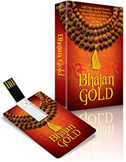 Music Card: Bhajan Gold (175 SONGS) (320 Kbps MP3 Audio) USB Memory Stick