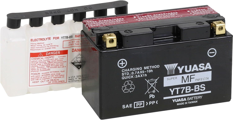 YT7B-BS YT7B-4 QMP GEL Batterie SUZUKI DRZ400 E D