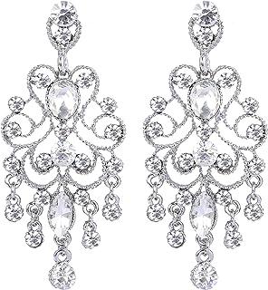 Wedding luxury earrings Chandelier earrings Luxury earrings Earrings-crosses Medici Gorgeous earrings Bridal earrings Crystal earrings