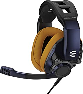 GSP 602 by EPOS Gaming Closed Acoustic Professional Gaming Esports Headset, Noise-Cancelling Microphone, Volume Control, P...