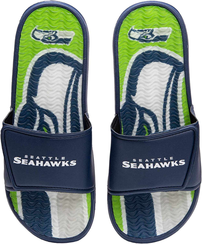 Max 83% Recommended OFF FOCO NFL mens Mens Sport Shower Slide Sandals Gel Flop Flip