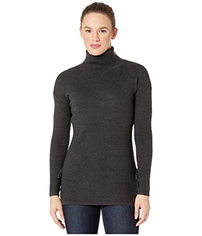 Smartwool Spruce Creek Tunic Sweater (Charcoal Heather) Women
