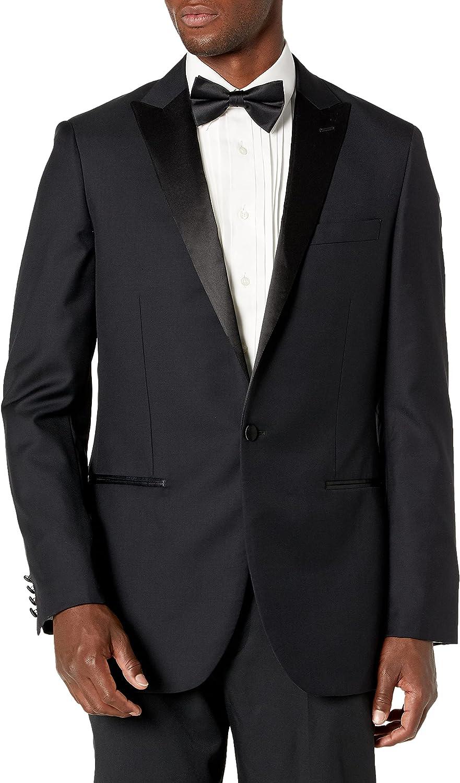 Amazon Brand - Buttoned Down Men's Classic Fit Italian Wool Tuxedo Jacket