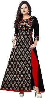 Ziya Readymade Cotton Long Women Dress Kurti for Women Formal & Party Wear 315