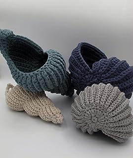 Cestini portaoggetti a forma di conchiglie
