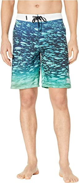 "Clark Little Phantom Underwater 20"" Boardshorts"