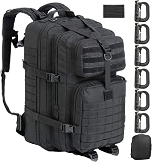 GZ XINXING 43L Large Military Tactical Backpack Army 3 Day Assault Pack Molle Bag Backpacks